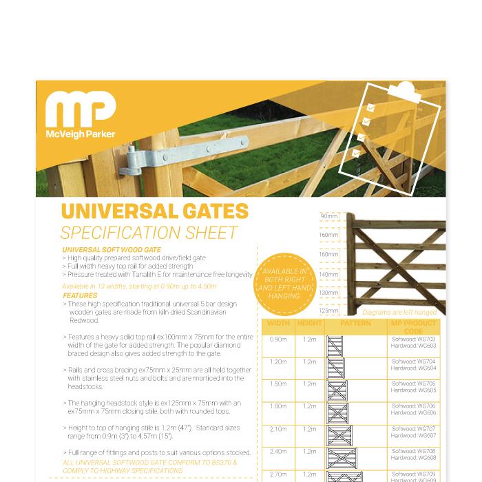 Universal Wooden Gates