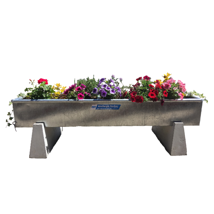 How to Create a Water Trough Planter