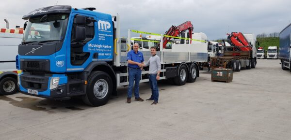 McVeigh Parker's Transport Fleet gets a Boost!