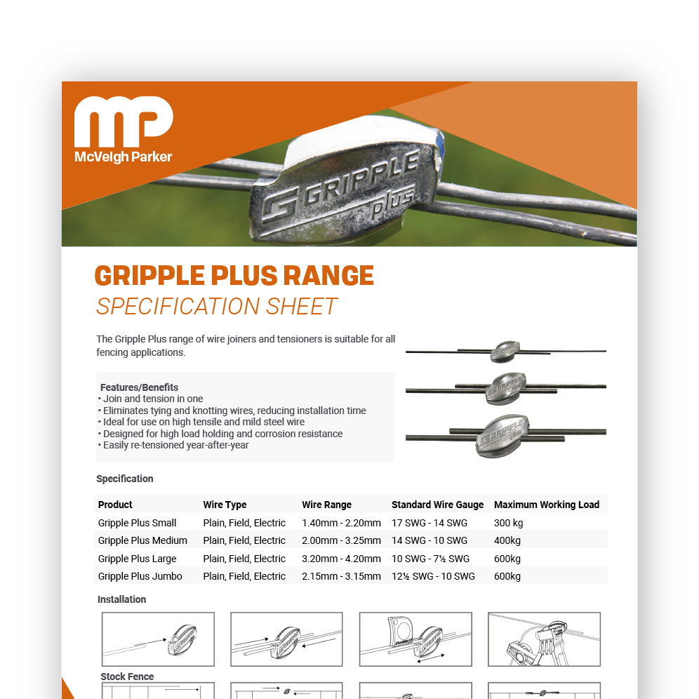 Gripple Plus Range