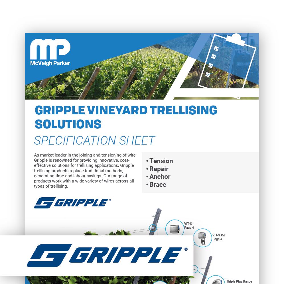 Gripple Vineyard Trellising Solutions
