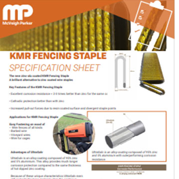 KMR Fencing Staple