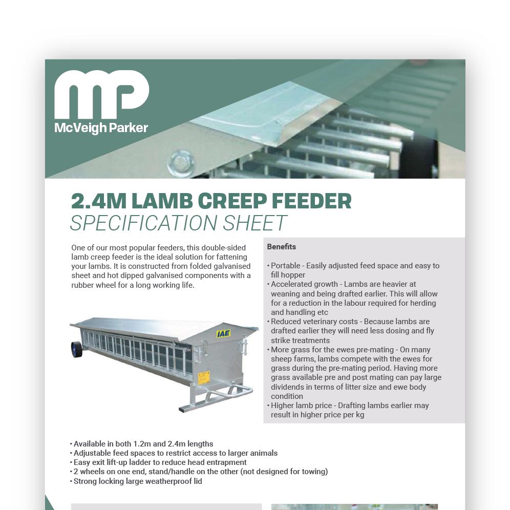 Lamb Creep Feeder