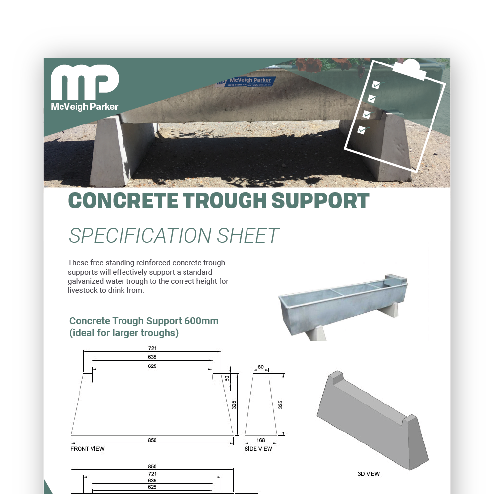 Trough Supports