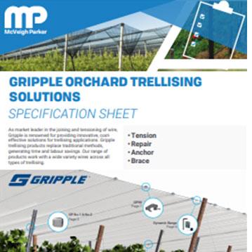 Gripple Orchard Trellising Solutions