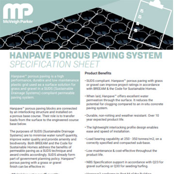 Hanpave Permeable Plastic Pavers