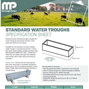 Livestock Water Trough