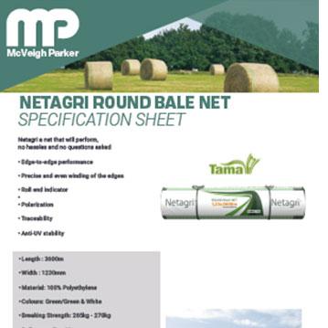 Netagri Round Bale Net