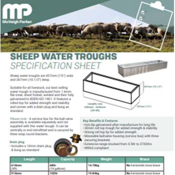 Sheep Water Trough