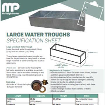 Large Water Trough