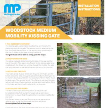 Woodstock Mobility Kissing Gate