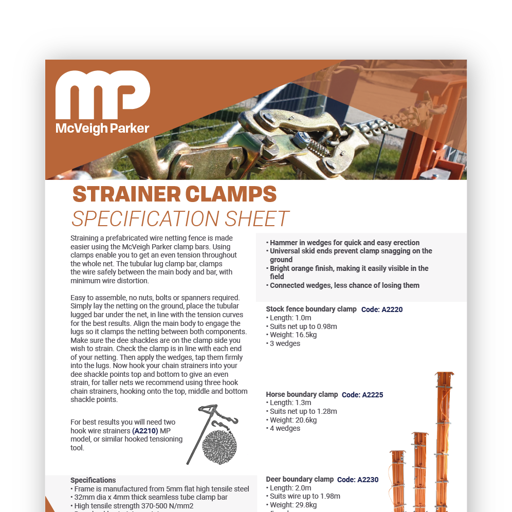 Strainer Clamps