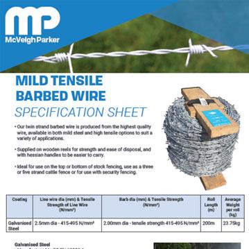 Mild Steel Barbed Wire