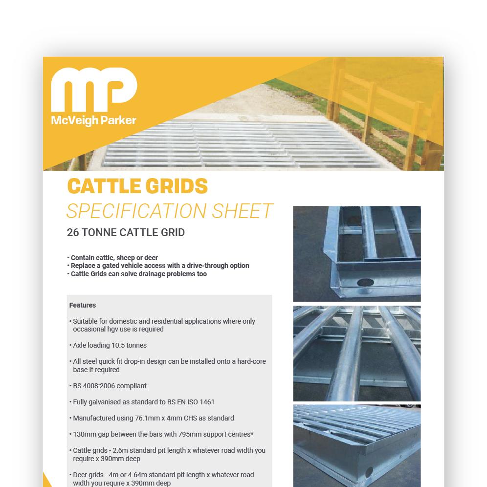 Cattle Grid - 26 Tonne