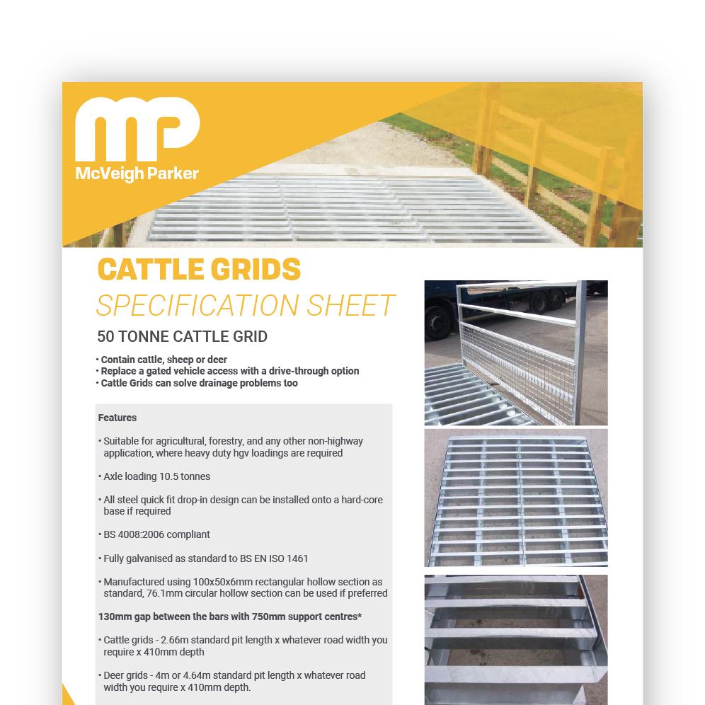 Cattle Grid - 50 Tonne