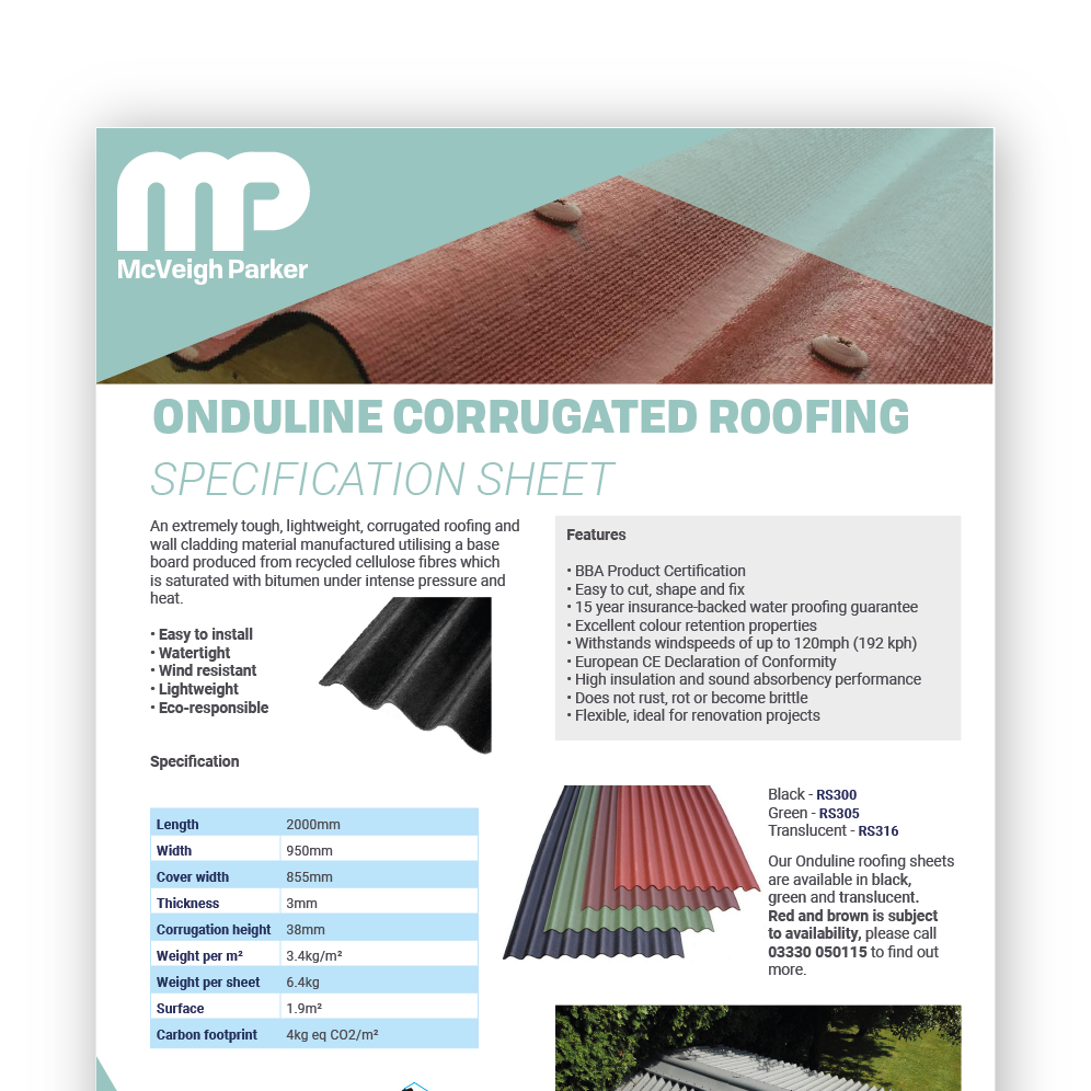 Onduline Corrugated Roofing