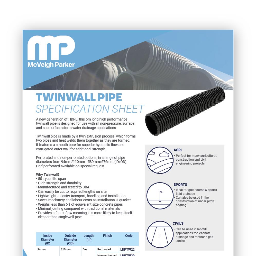 Twinwall Pipe