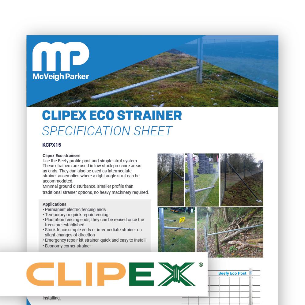 Clipex Eco Strainer