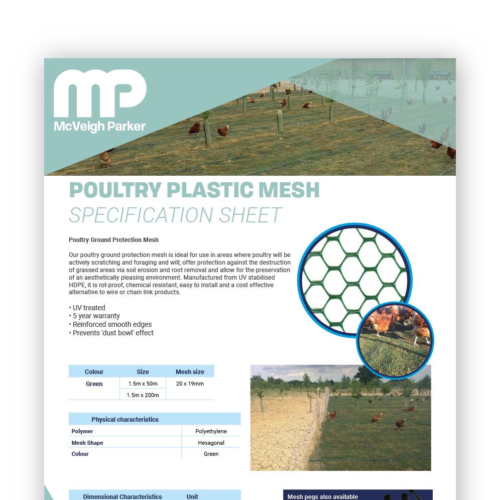Poultry Plastic Mesh