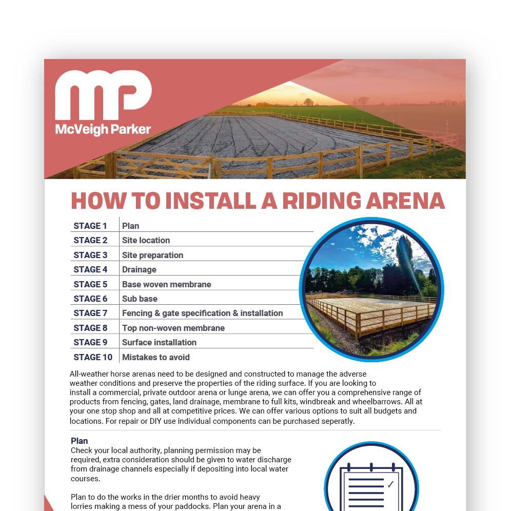 Riding Arena Installation